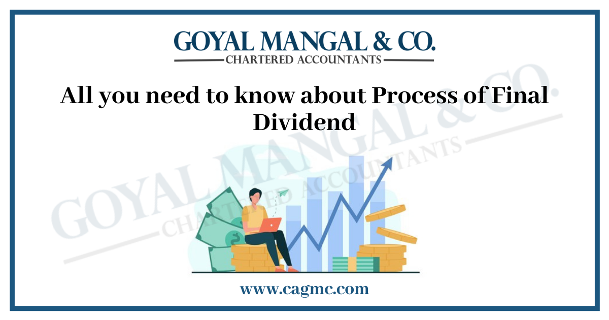 All you need to know about Process of Final Dividend