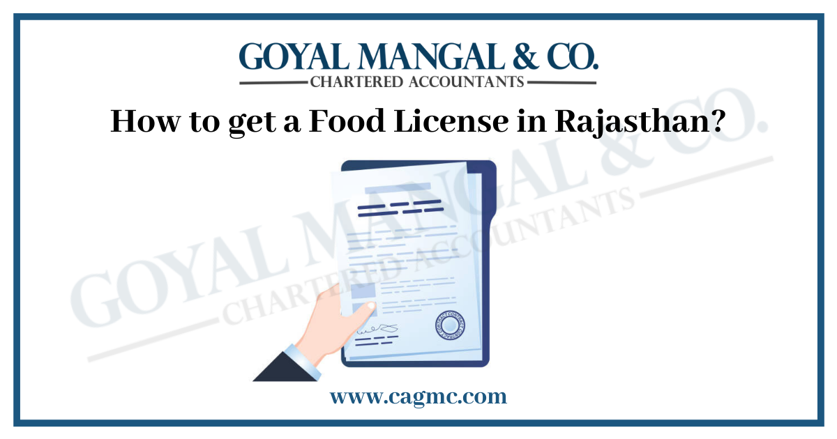 How to get a Food License in Rajasthan?