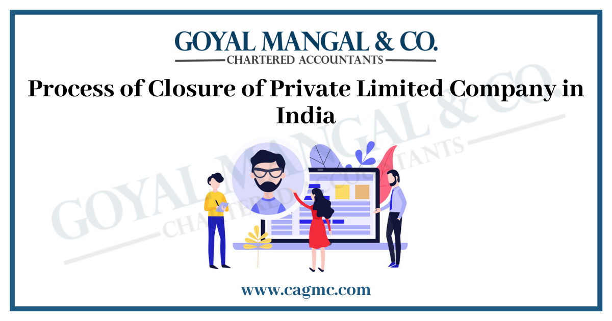 Process of Closure of Private Limited Company in India