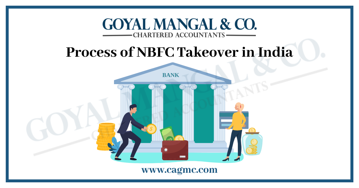 Process of NBFC Takeover in India