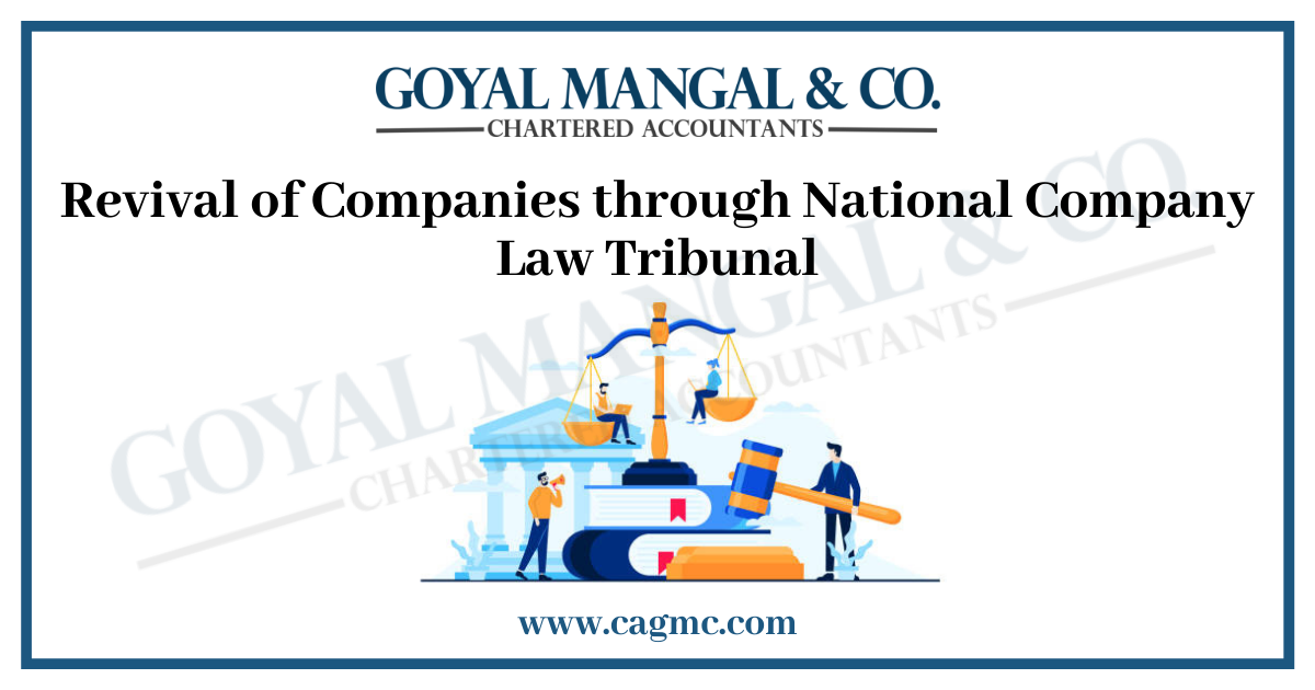 Revival of Companies through National Company Law Tribunal